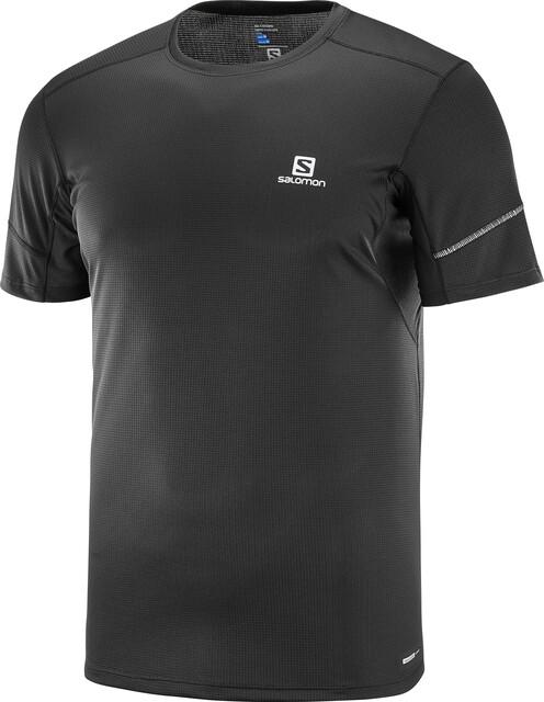 Salomon Agile T shirt Homme, black
